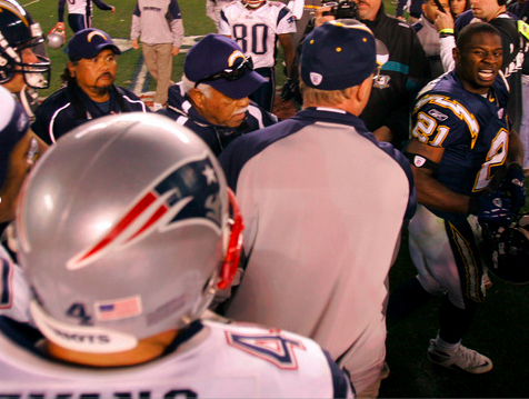 LaDainian Tomlinson after Playoff loss to Patriots